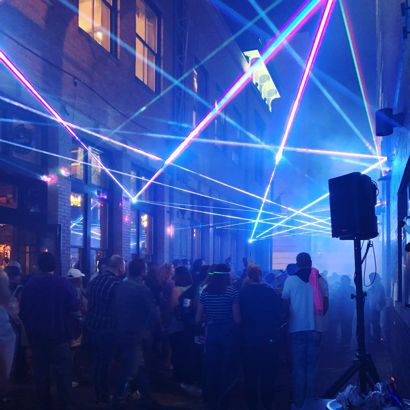 Laser Mirrors at Blink Festival 2019