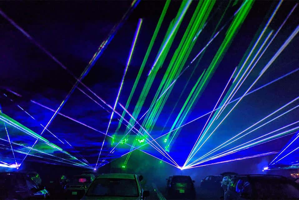 Lasers for Drive-Ins! | Pinnacle Laser Productions