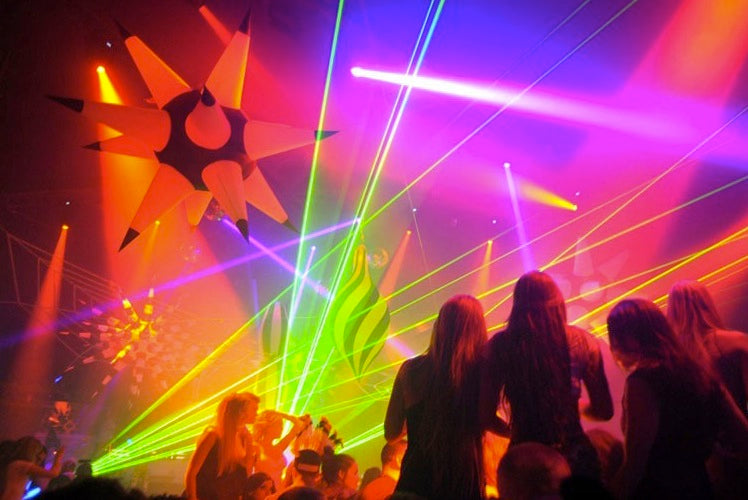 Lasers for DJs and Nightclubs