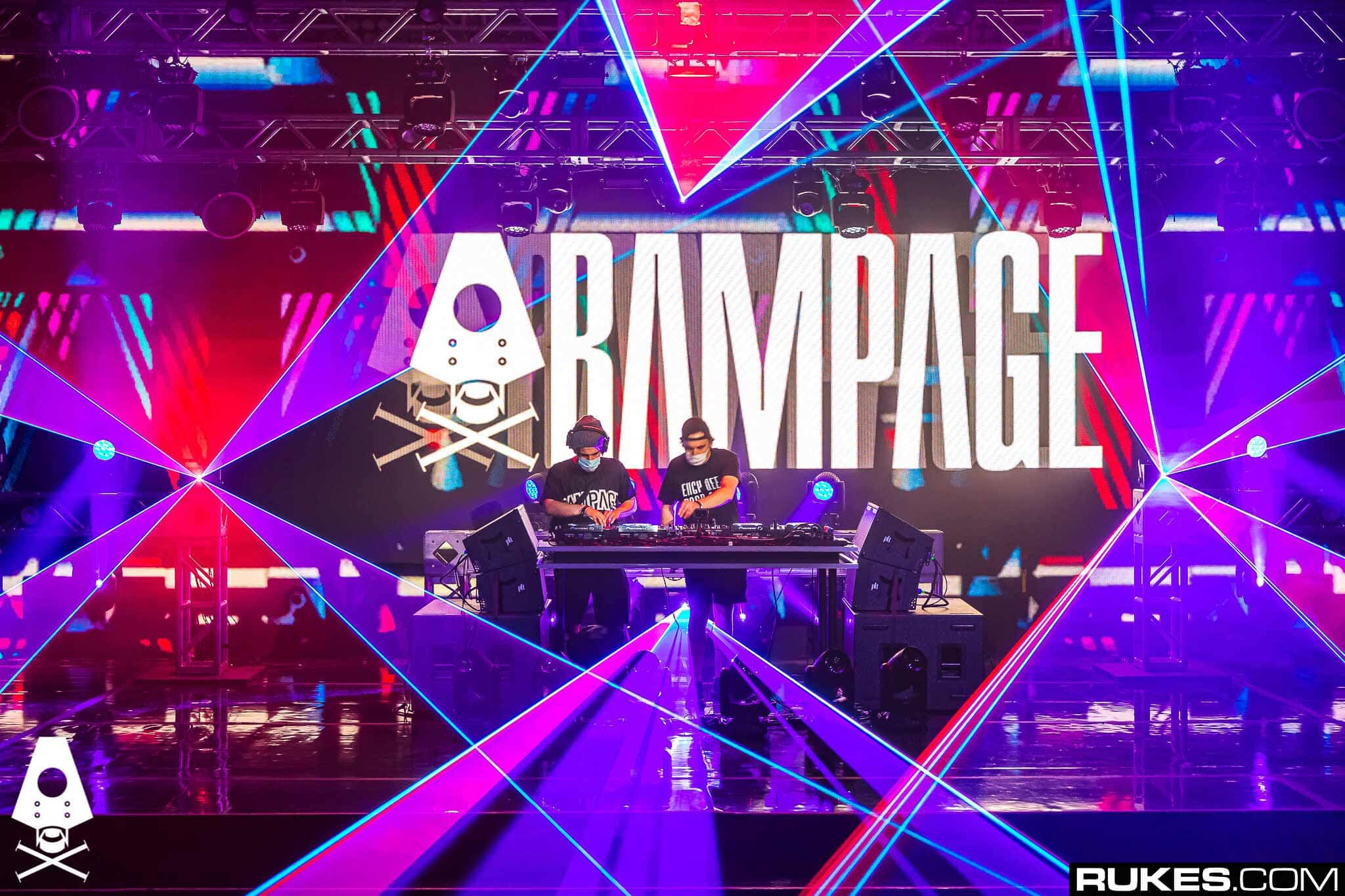 Rampage 2020 Goes Virtual | Incredible Online Laser Show