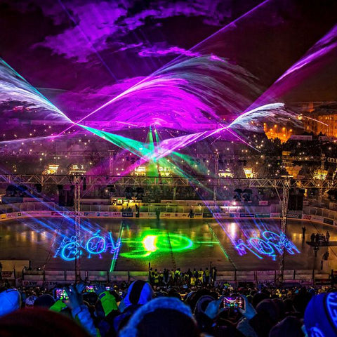 Burning man laser