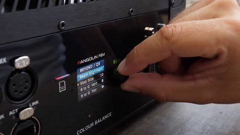 Color alignment using FB4 control hardware