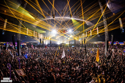 Beyond Wonderland SoCal (Yellow Lasers)