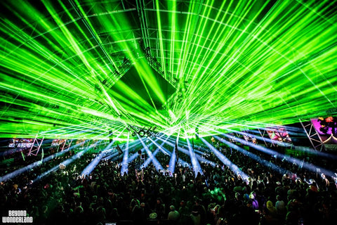Beyond Wonderland SoCal 2019 (Green Lasers)
