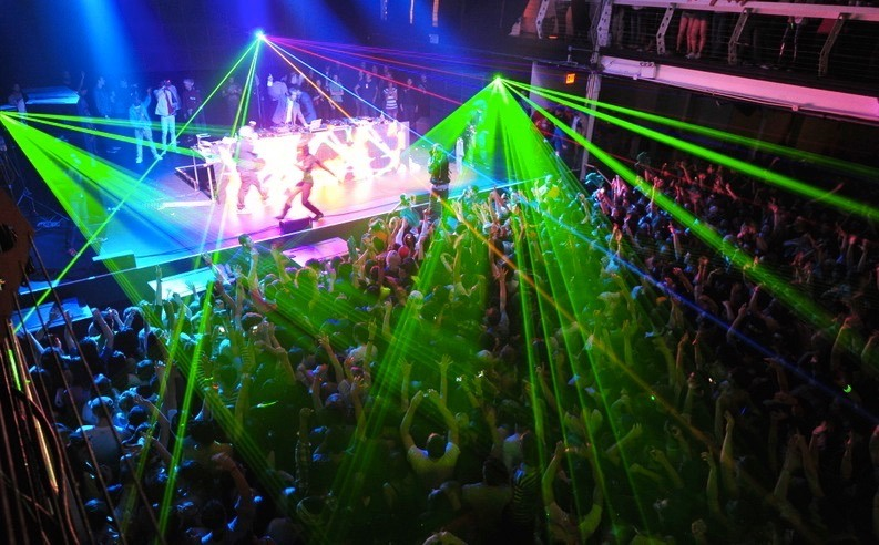 Laser Safety Overhead beam effects 3