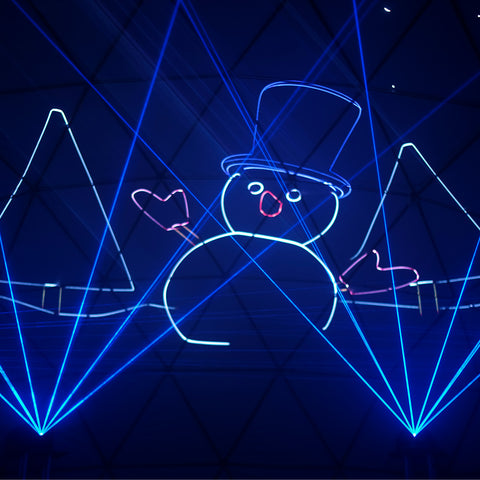 Frosty The Snowman Laser Dome