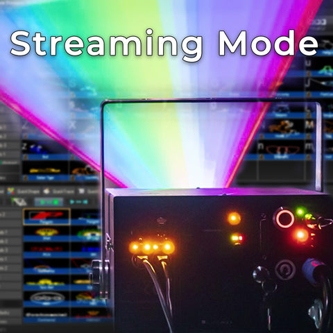 Streaming mode with beyond software