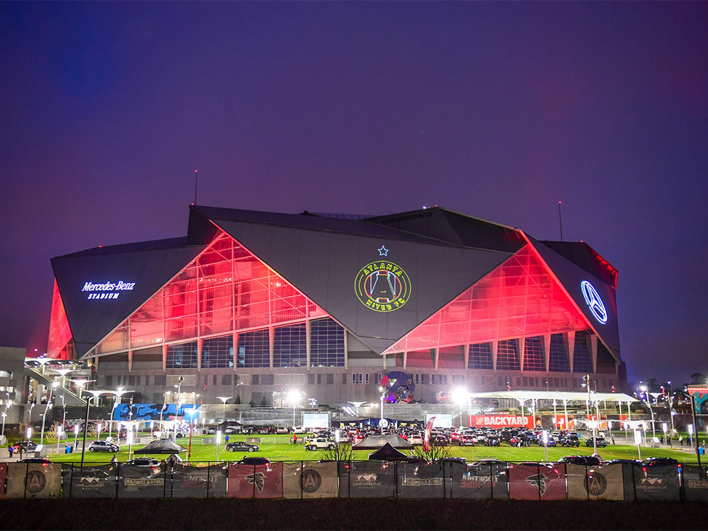 Atlanta united 2021 kit launch outdoor picture