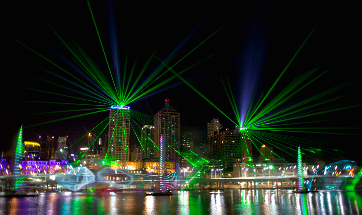 Laser Safety Outdoor Projection 2
