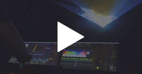 How to control a KVANT laser from a lighting console