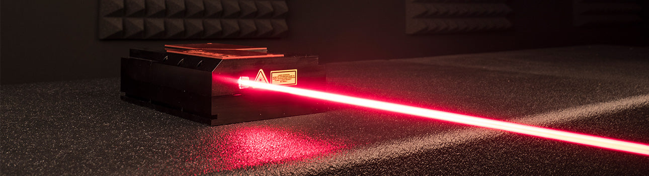 High power red laser module from kvant lasers