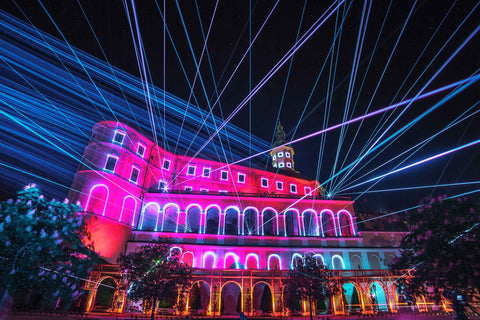 laser mapping projection