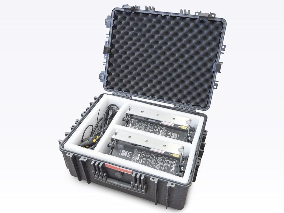 Burstberry flight case for 2 units inside