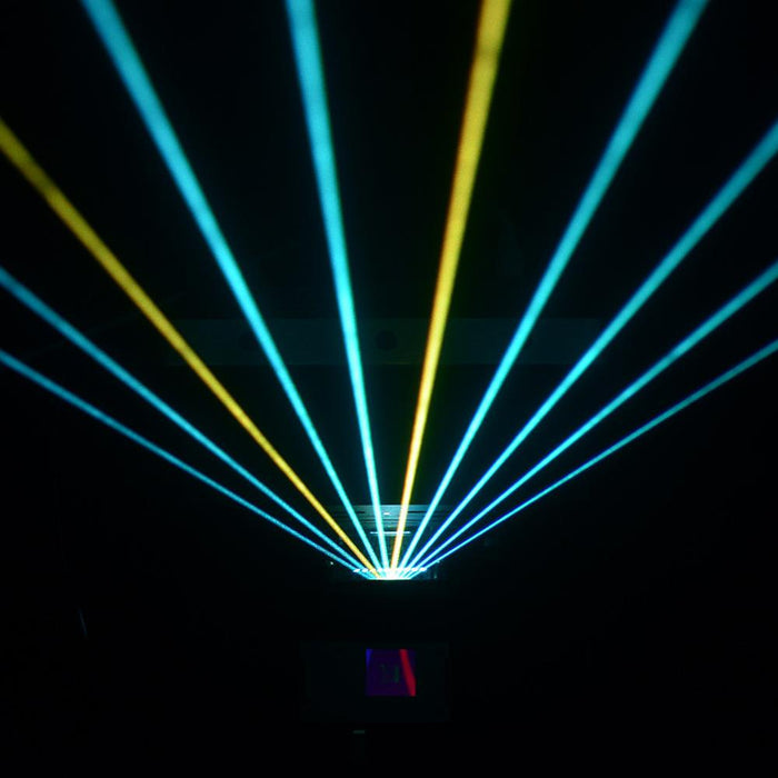 laser harp kvant in action front view