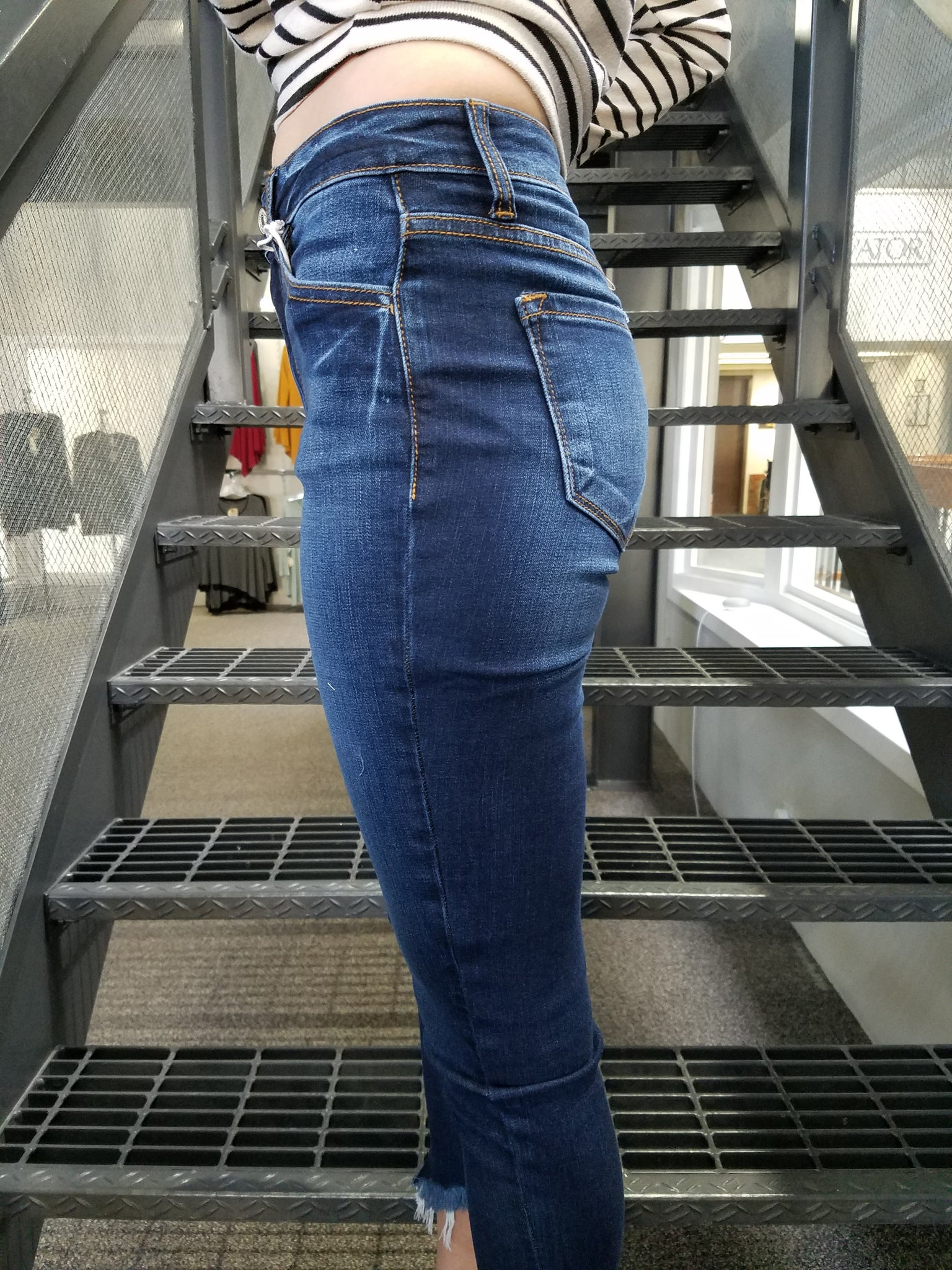 JJ25 Kan Can Non Distressed Jeans