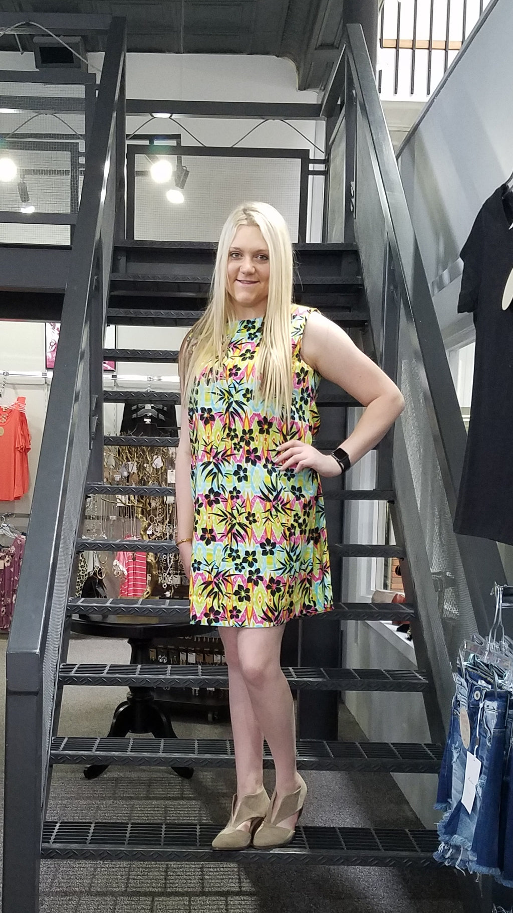 DR Color Me Floral Sleeveless Dress