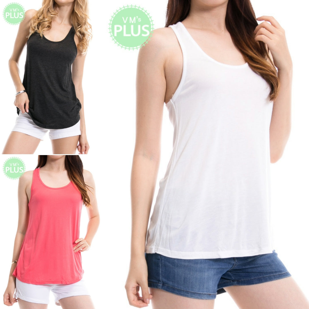 Plus TT Solid Tank Top