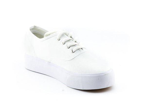 SH Lace Up Canvas Sneakers