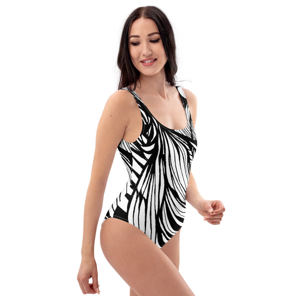 WAVES One-Piece Swimsuit