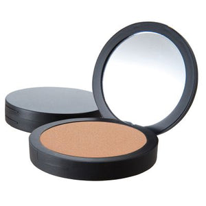 Mineral Pressed Bronzer, Golden Shimmer, in Compact