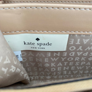 Kate Spade Light Pink Neda Charm City Ostrich Wallet - City Girl Barn Treasures