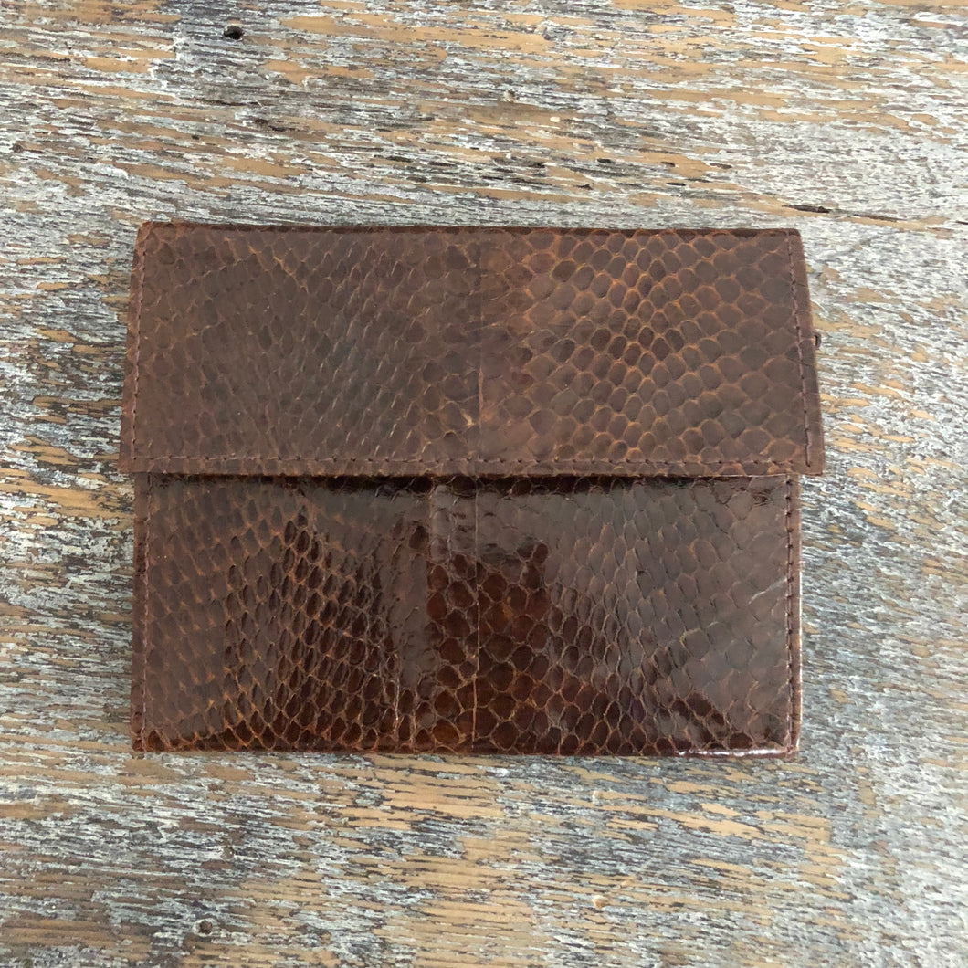 Snake Skin Wallet - City Girl Barn Treasures
