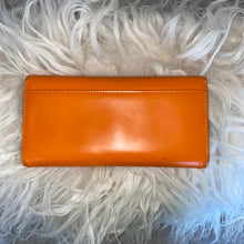 Orange Kate Spade Embossed Wallet - City Girl Barn Treasures