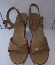 "Di Marcella  Wedge Made In Brazil  4.5"" (Carmel) - City Girl Barn Treasures"