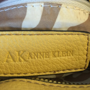 Anne Klein Butter Leather Bucket Handbag - City Girl Barn Treasures