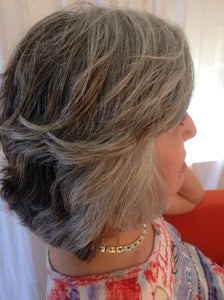 Virgin Organic Remi Cuticle Natural Grey Hair Wigs - City Girl Barn Treasures