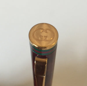 Gucci Vintage Pre Owned Ball Point Pen - City Girl Barn Treasures