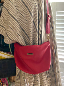 Vegan BCBG Paris  Red Cross Body Bag - City Girl Barn Treasures