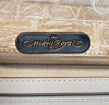 Vintage Modell Royal Beige Exotic Leather  Hand / shoulder Bag - City Girl Barn Treasures