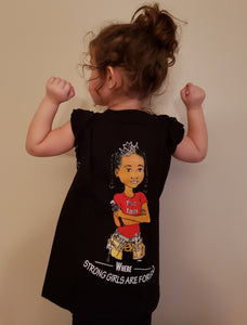 Kids Black Short Sleeve T-Shirt