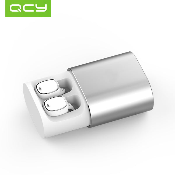 Безжични слушалки QCY T1 PRO TWS, Bluetooth 4.2, Powerbank 750mAh, HiFI