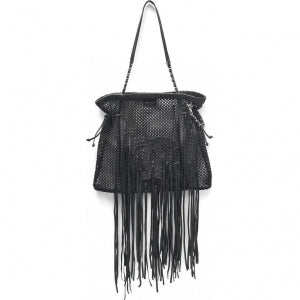 Chanel Crochet Cruise Fringe Tote