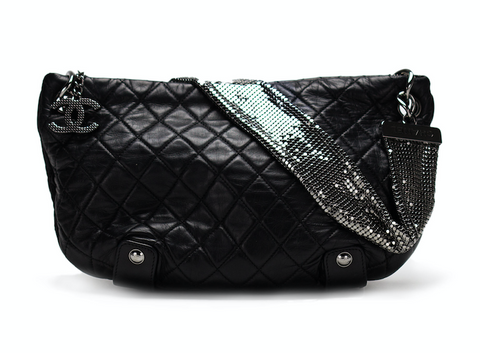 Chanel Chainmail Hobo Lambskin