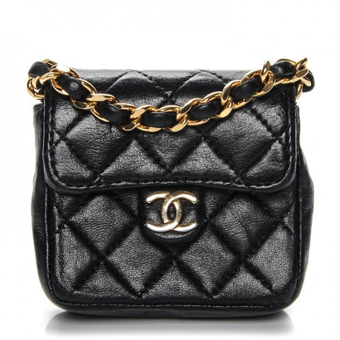 Chanel Micro Mini Flap Bag Claudia Schiffer