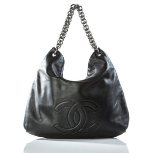Chanel Chunky Chain Soft Lamb Tote