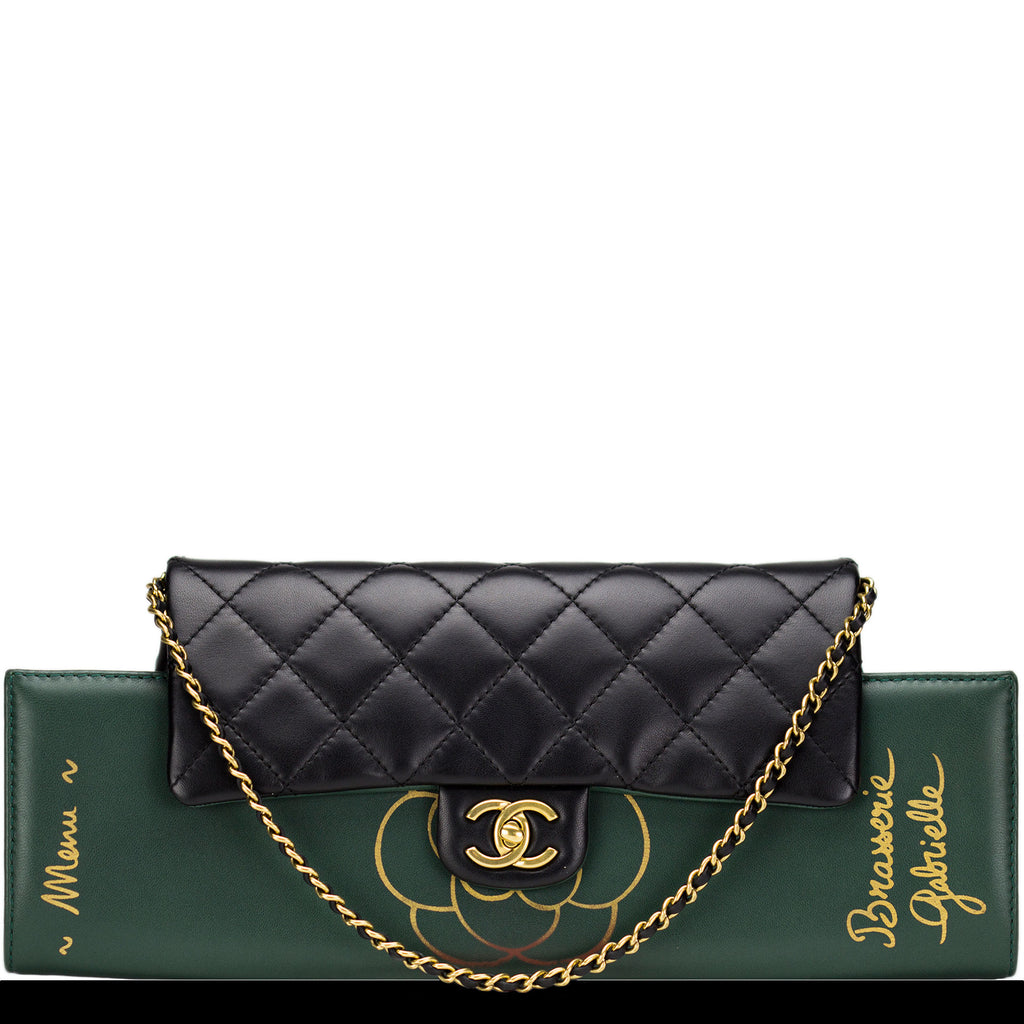 Chanel Gabrielle Brasserie Menu Flap Clutch