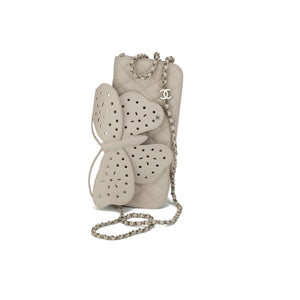 Chanel Soft Lambskin Butterfly Clutch Flap