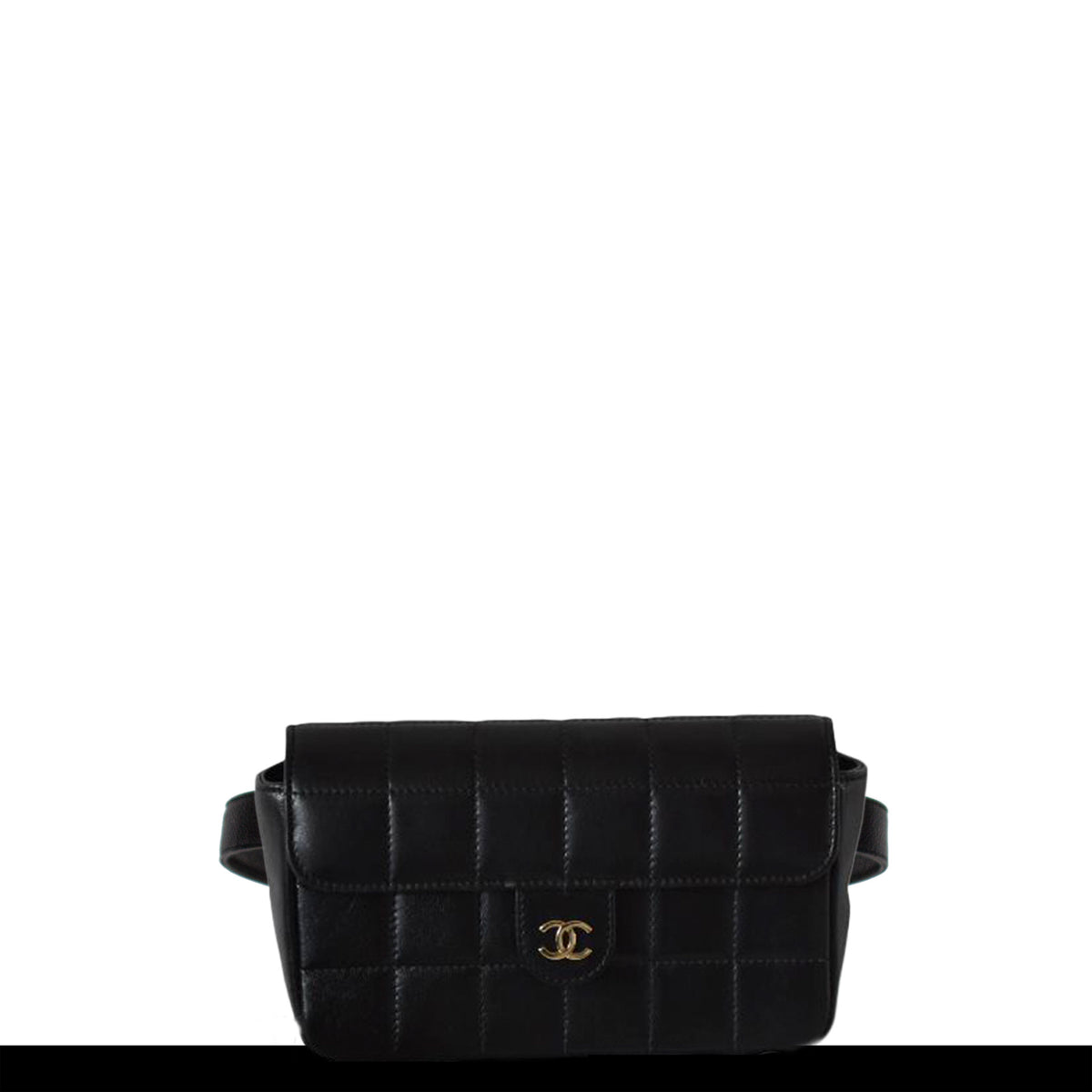 cbe2368897ac Chanel Vintage Square Quilted Fanny Pack Waist Bum Bag – House of Carver