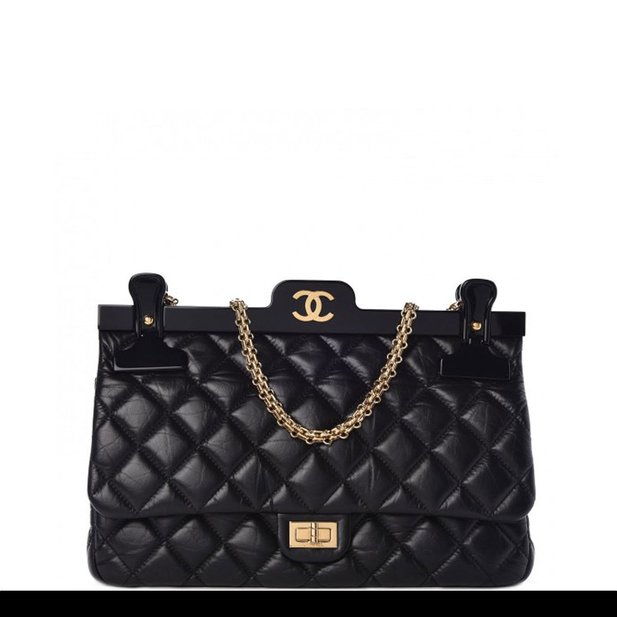 99bbc22305c9 Chanel Classic Flap Runway Hanger Large Reissue Bag – House of Carver