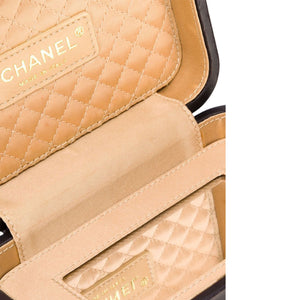 Chanel Limited Edition Paris London Pearl Crown Tiny Minaudière