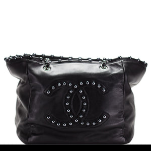 Chanel Lambskin Extra Large Pearl Obsession Tote