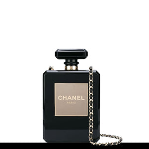 Chanel Iconic No.5 Perfume Plexiglass Bottle Crossbody Bag