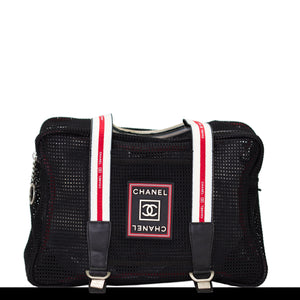 Chanel Mesh Expandable Sport Bag