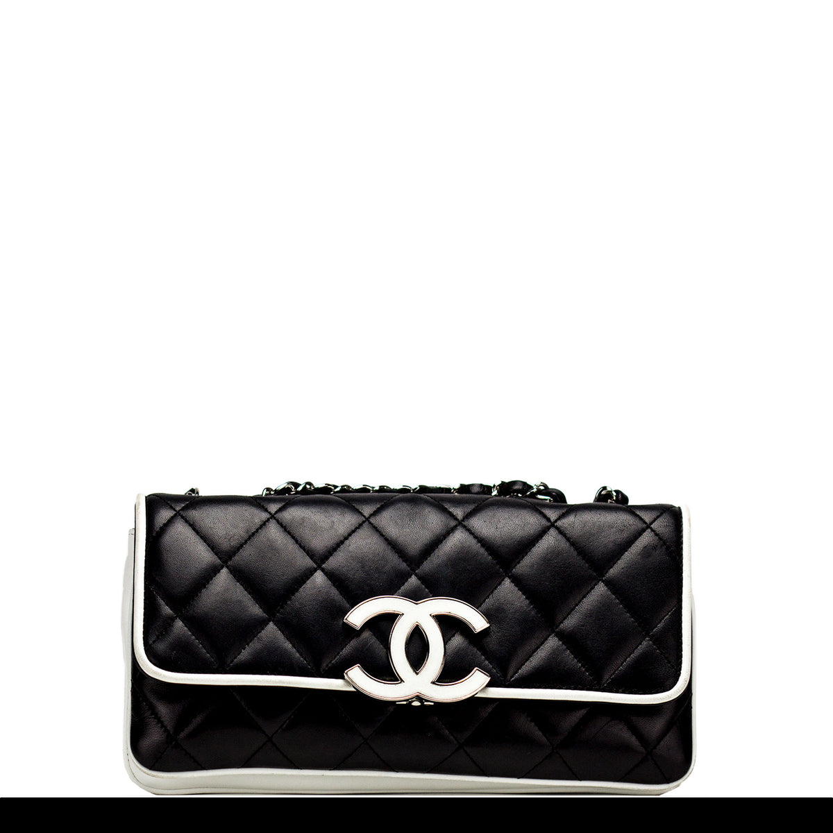 92be84264ce95a Chanel Black and White Medium Cruise Flap – House of Carver