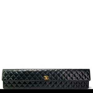 Chanel Long Vintage Elongated Classic Clutch
