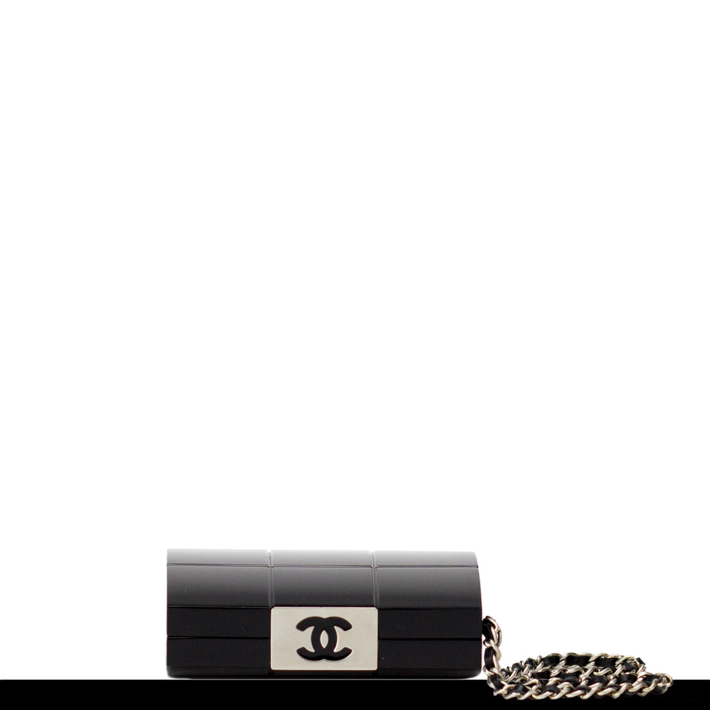 Chanel Quilted Enamel Minaudière